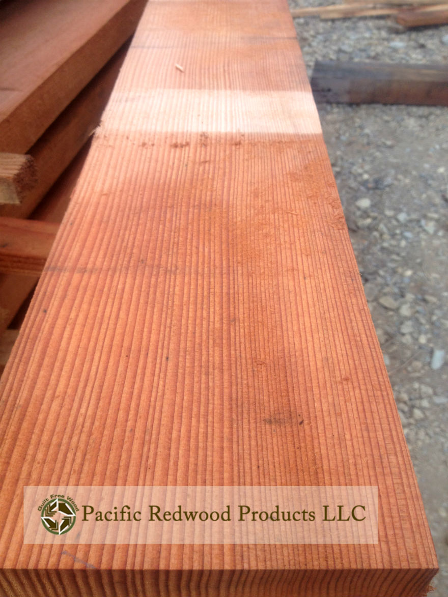 old-growth-eco-salvaged-tight-grain-redwood-lumber-Pacific Redwood Products LLC