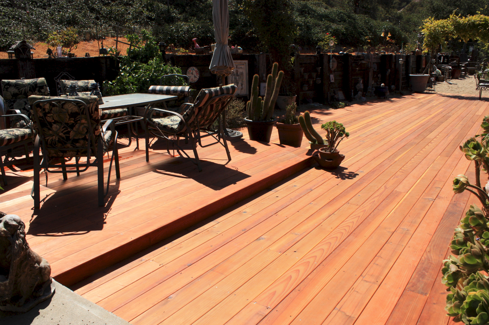 salvaged redwood-lumber-deck-Pacific Redwood Products LLC