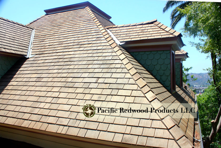 Premium Redwood Shingles Amp Shakes Pacific Redwood Products