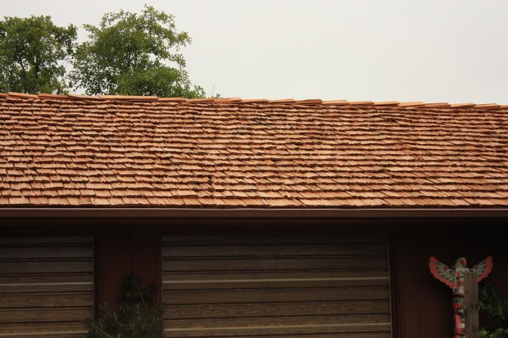 redwood shakes, redwood roof, split redwood