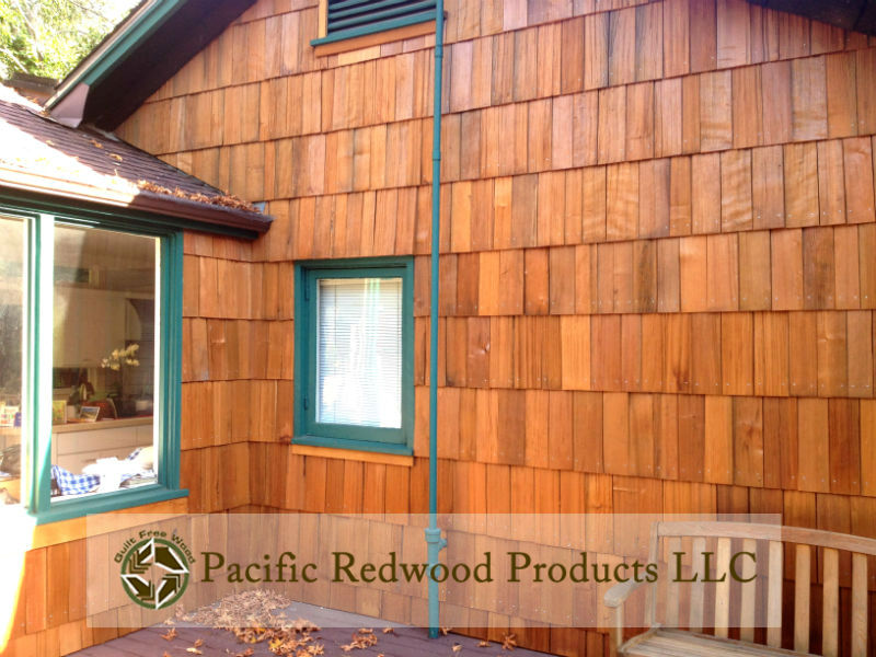 Old Growth Barn Shake Redwood Siding wwm
