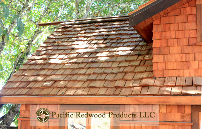 Old Growth Eco-Salvaged Redwood Handsplit Barnshakes