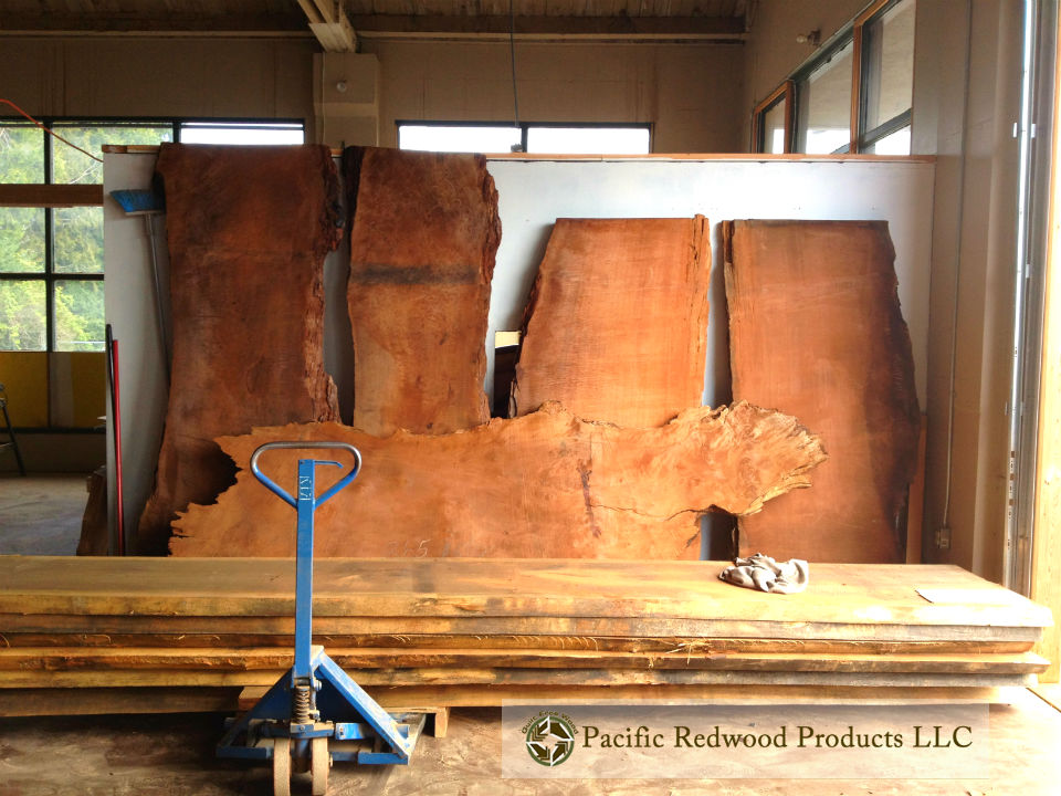 Old Growth Redwood Slab Wood wwm