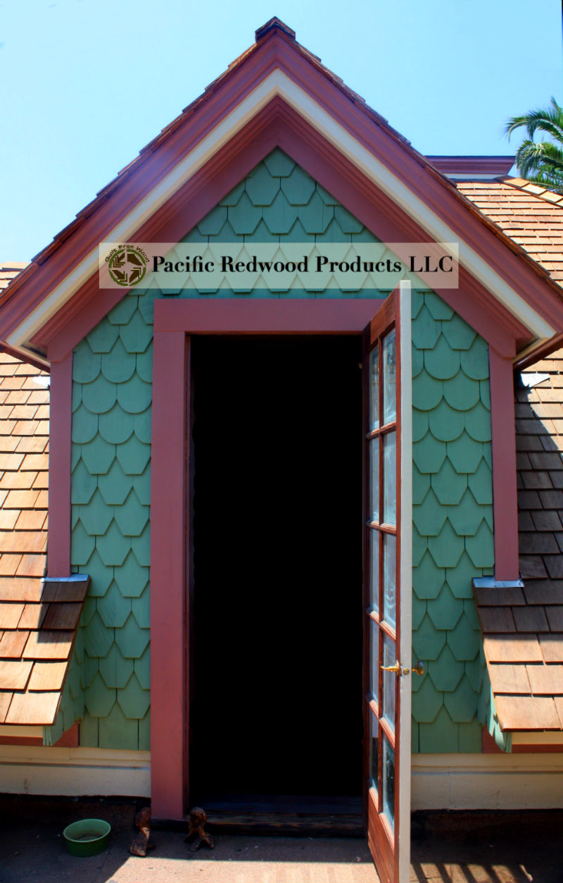 PRP Fancy Shingle House LA Door Dormer