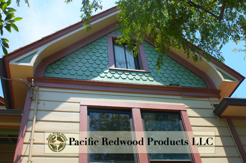 A beautiful restoration of a historical home in Los Angeles, using our fancy shingles.